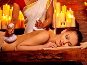 Trattamento ayurvedico - massaggio