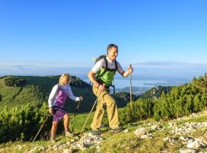 Escursionismo nella Baviera