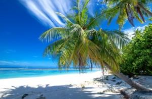 spiaggia maledive