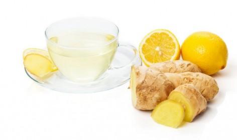 Tisana allo zenzero e al limone