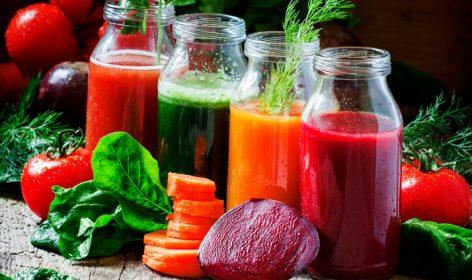 Suchhi di verdure, smoothie