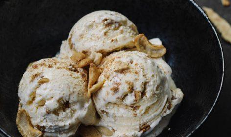 ice cream, gelato, mangiare sano, primavera, estate, avocado, frutta, latte di soia