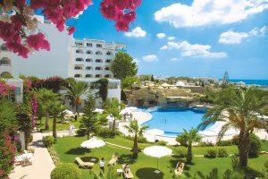 hotel, tunisia, africa, lusso, palme, piscina, vacanze