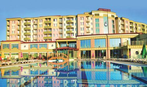 piscina, hotel, ungheria, terme