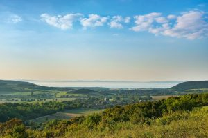 lago balaton, ungheria, Nivegy, paesaggio ungherese, vacanza ungheria