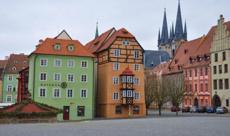 Case Colorate Tradizionali Boeme Repubblica Ceca