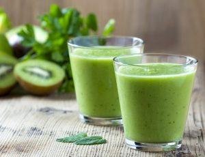Smoothie verde per affrontare digiuno terapeutico
