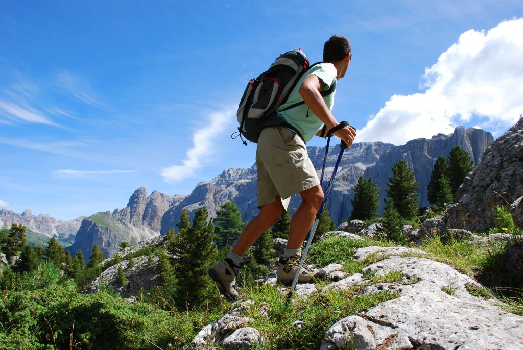 Escursionismo in vacanza
