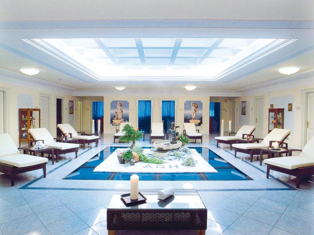 Abano Grand Hotel, piscina interna