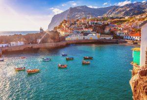 Scorcio dell'isola di Madeira