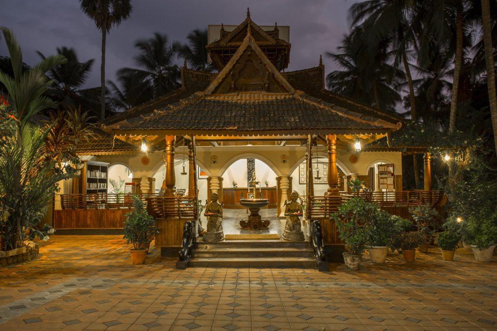 Somatheeram Ayurvedic Health Resort, vista esterna struttura