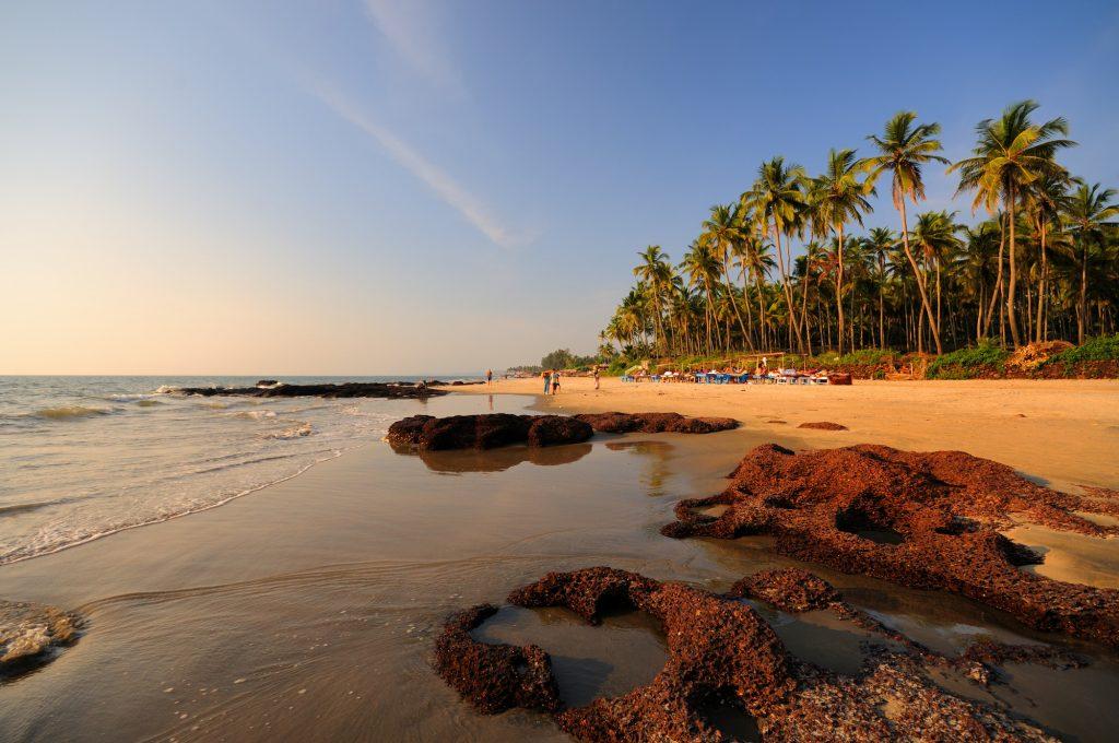 Spiaggia di Goa in India