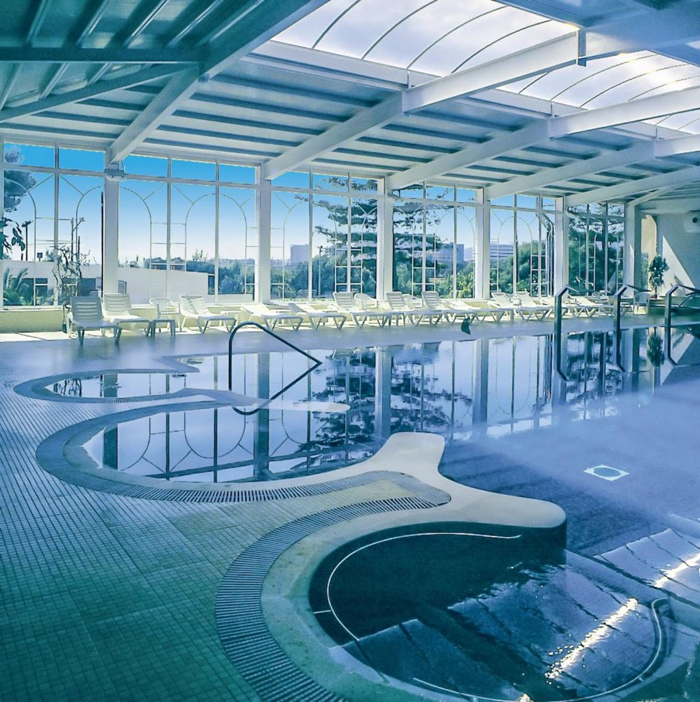 Thalasso Hotel Termas Marinas piscina interna