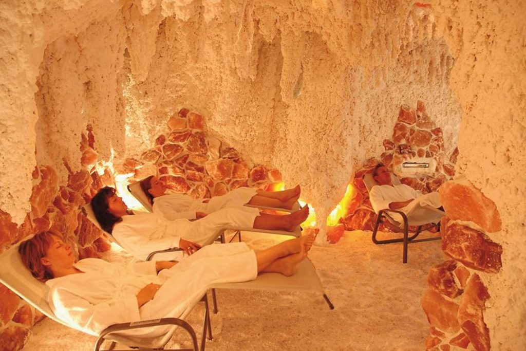 Gästehaus Edelweiss, grotta del sale