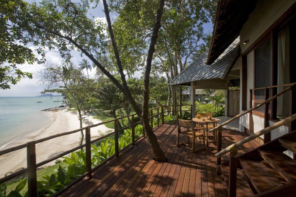Kamalaya Wellness Sanctuary and Holistic Spa, Vista della terrazza