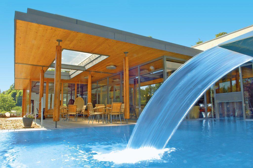 La Clairière Bio Spa Hotel, Vista esterna