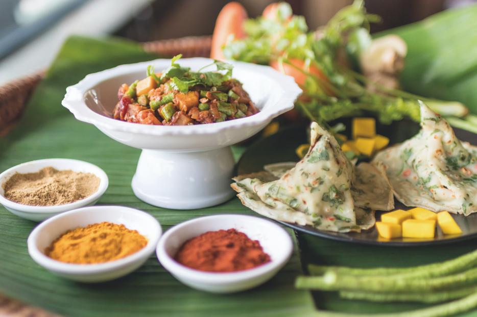 Crepes thailandesi alle verdure