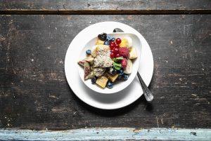colazione, frutta, cibo sano, alimentazione basica