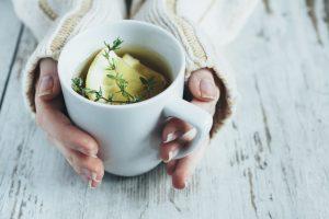 tè, limone, tisana, tè di digiuno