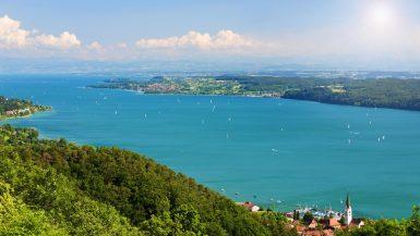lago di costanza, bodensee, alpi, lago, natura, cielo, estate