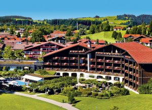 hotel, spa, benessere germania, oberstaufen, neuschwanstein, alpi, montagne