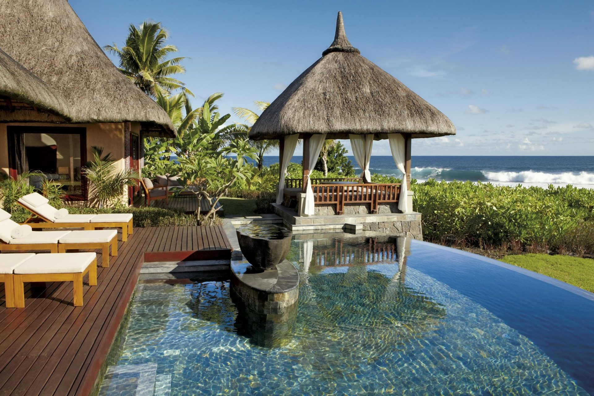 mauritius, isola, hotel, resort, spa, lusso, tropicale, oceano