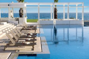 hotel, tunisia, sole, mare, estate, lusso, piscina, vacanza