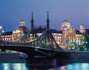 ponte, ungheria, budapest, parlamento, palazzo, architettura
