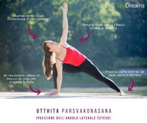 Yoga Angolo Laterale Esteso, Posizione Yoga