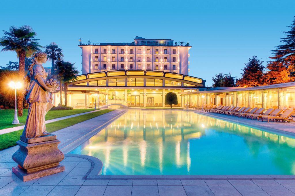 Hotel President Terme, piscina esterna