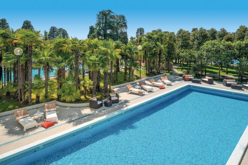 Hotel Terme Metropole, piscina esterna