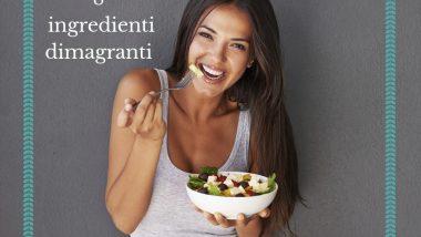 Ragazza mangia un piatto salutare