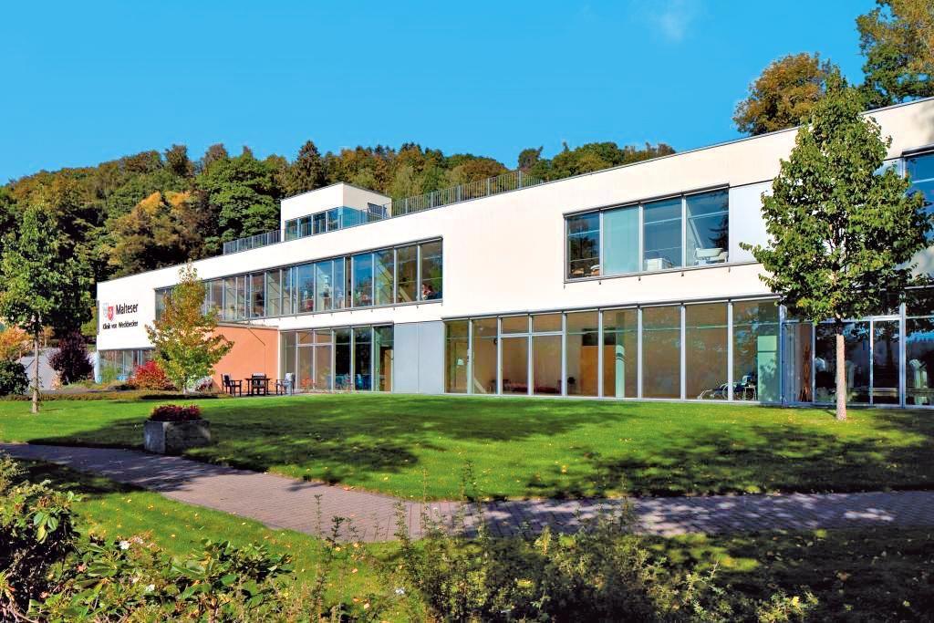 Malteser Klinik von Weckbecker, immagine dell'edificio